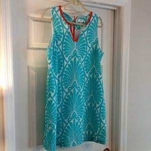Crown & Ivy Sz 16 Eyelet Dress